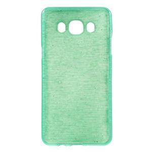 Brushed gelový obal na mobil Samsung Galaxy J5 (2016) - cyan - 1