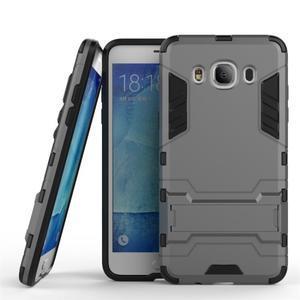 Odolný kryt pre mobil Samsung Galaxy J5 (2016) - šedý - 1