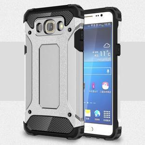 Armor 2v1 odolný obal na Samsung Galaxy J5 (2016) - stříbrný - 1
