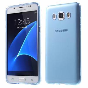 Ultratenký slim gelový obal na Samsung Galaxy J5 (2016) - modrý - 1