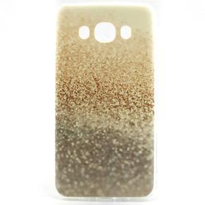 Flexi obal na mobil Samsung Galaxy J5 (2016) - zlatý písek - 1