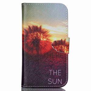 Emotive peňaženkové puzdro pre Samsung Galaxy S3 - východ slnka - 1