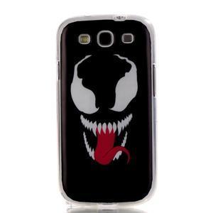 Gelový obal na mobil Samsung Galaxy S3 - monstrum - 1