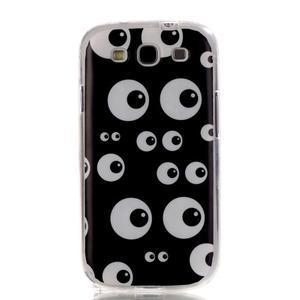 Gélový obal pre mobil Samsung Galaxy S3 - kukuč - 1