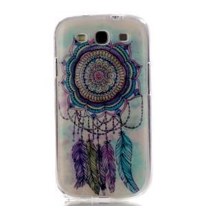 Gelový obal na mobil Samsung Galaxy S3 - lapač snů - 1