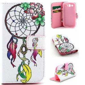 Knížkové puzdro pre mobil Samsung Galaxy S3 - snívanie - 1