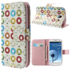 Funy puzdro pre mobil Samsung Galaxy S3 - disky - 1