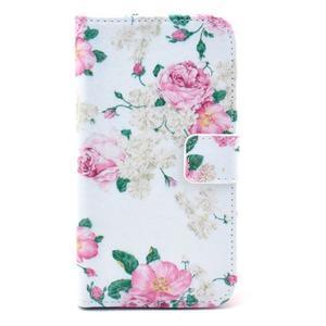 Pictu puzdro pre mobil Samsung Galaxy S3 - kvetinová koláž - 1