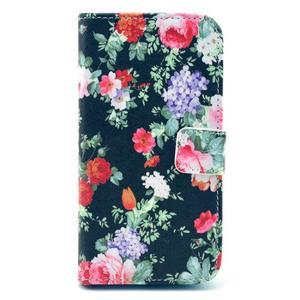 Pictu puzdro pre mobil Samsung Galaxy S3 - kvety - 1