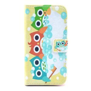 Pictu puzdro pre mobil Samsung Galaxy S3 - sovičky - 1