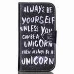 Emotive peněženkové pouzdro na Samsung Galaxy S3 - unicorn - 1/6
