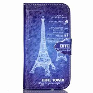 Emotive peňaženkové puzdro pre Samsung Galaxy S3 - Eiffelova veža - 1