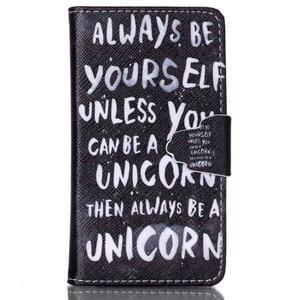 Emotive pouzdro na mobil Samsung Galaxy S3 mini - unicorn - 1
