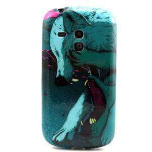 Gelový obal na mobil Samsung Galaxy S3 mini - vlci - 1
