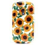Gélový obal pre mobil Samsung Galaxy S3 mini - slunečnice - 1/3