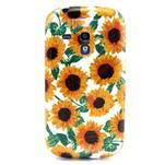 Gelový obal na mobil Samsung Galaxy S3 mini - slunečnice - 1/3