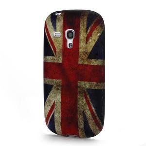 Emotive gelový obal na Samsung Galaxy S3 mini - UK vlajka - 1
