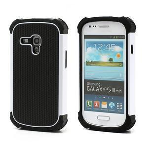 Outdoor odolný obal pre mobil Samsung Galaxy S3 mini - biely - 1