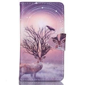 Emotive puzdro pre mobil Samsung Galaxy S3 mini - mystický jelen - 1