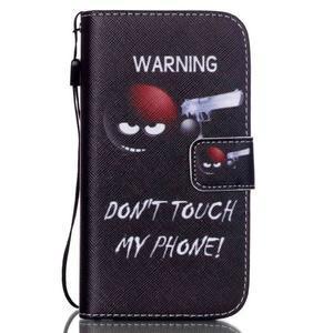 Knížkové koženkové puzdro pre Samsung Galaxy S4 - nesiahat - 1