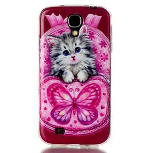 Softy gélový obal pre mobil Samsung Galaxy S4 - koťátko - 1