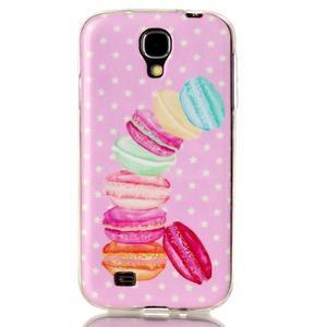 Softy gélový obal pre mobil Samsung Galaxy S4 - makrónky - 1