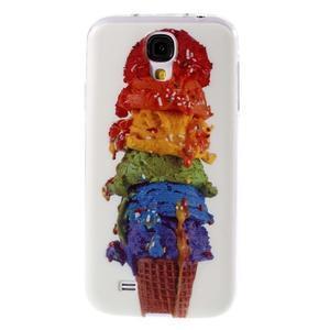 Ultratenký slim gélový obal pre Samsung Galaxy S4 - zmrzlina - 1