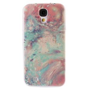 Ultratenký slim gélový obal pre Samsung Galaxy S4 - malba - 1