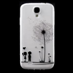 Slim gelový obal na mobil Samsung Galaxy S4 - láska - 1