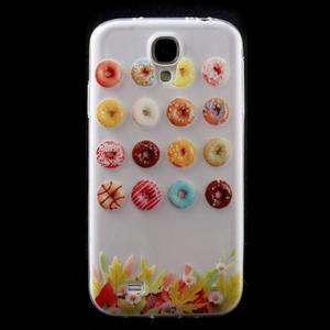 Slim gélový obal pre mobil Samsung Galaxy S4 - donuts - 1