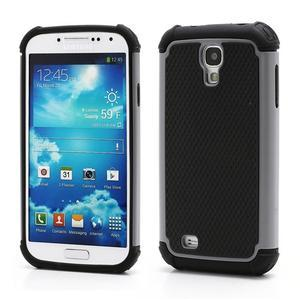 Outdoor odolný silikonový obal na Samsung Galaxy S4 - šedý - 1