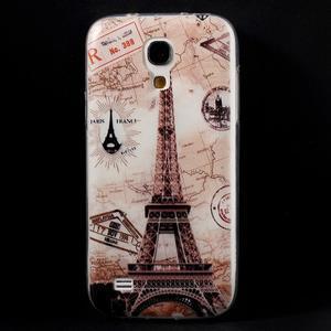 Gélový obal pre mobil Samsung Galaxy S4 mini - Eiffelova veža - 1