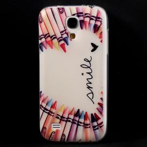 Gélový obal pre mobil Samsung Galaxy S4 mini - život je krásný - 1