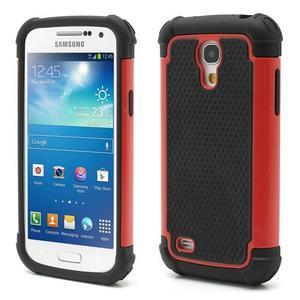 Extreme odolný kryt pre mobil Samsung Galaxy S4 mini - červený - 1