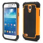 Extreme odolný kryt na mobil Samsung Galaxy S4 mini - oranžový - 1/5