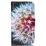 Emotive peněženkové pouzdro na Samsung Galaxy S4 mini - barevená pampeliška - 1/6