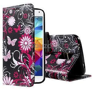 Ochranné pouzdro na mobil Samsung Galaxy S5 - motýlci - 1