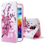 Ochranné pouzdro na mobil Samsung Galaxy S5 - kvetoucí větvička - 1/6