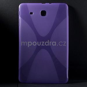 X-line gélové puzdro na tablet Samsung Galaxy Tab E 9.6 - fialové - 1