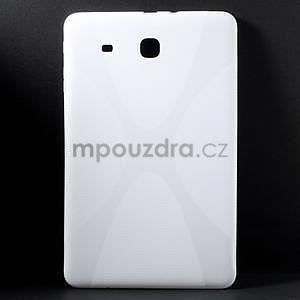 X-line gélové puzdro na tablet Samsung Galaxy Tab E 9.6 - biele - 1