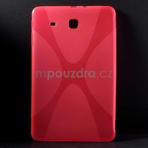 X-line gélové puzdro na tablet Samsung Galaxy Tab E 9.6 - rose - 1