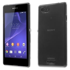 Ultratenký obal na mobil Sony Xperia E3 - šedý - 1