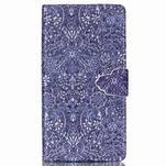 Emotive pouzdro na mobil Sony Xperia M4 Aqua - retro květy - 1/6