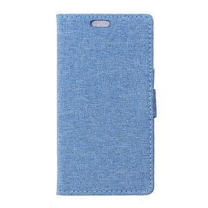 Texture puzdro pre mobil Sony Xperia X - modré - 1
