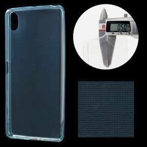 Ultratenký 0.5 mm gelový obal na Sony Xperia X - světlemodrý - 1
