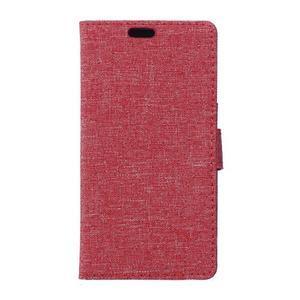 Texture pouzdro na mobil Sony Xperia X - červené - 1