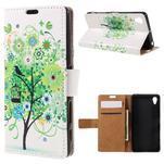 Emotive puzdro pre mobil Sony Xperia X Performance - zelený strom - 1/7