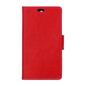 Horse Peňaženkové puzdro pre Sony Xperia X Performance - červené - 1