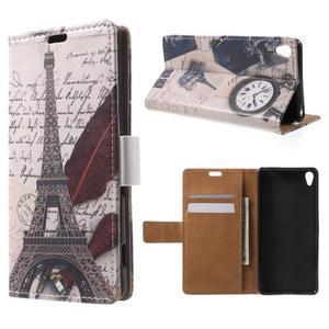 Emotive pouzdro na mobil Sony Xperia XA - Eiffelova věž - 1