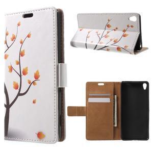 Emotive puzdro pre mobil Sony Xperia XA - jesenné strom - 1
